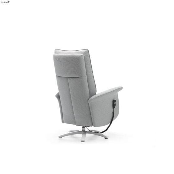 Rom Aloe Swivel Recliner Chair back