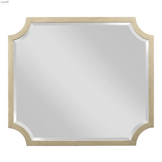 American Drew Lenox Collection Sarbonne Shaped Mirror