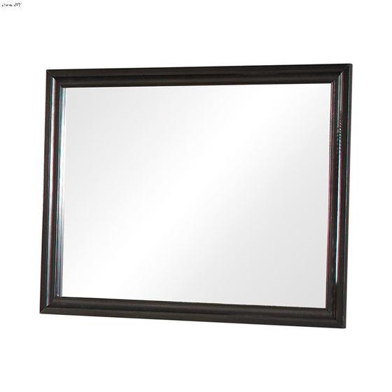 Barzini Black Rectangular Mirror 200894 By Coaster