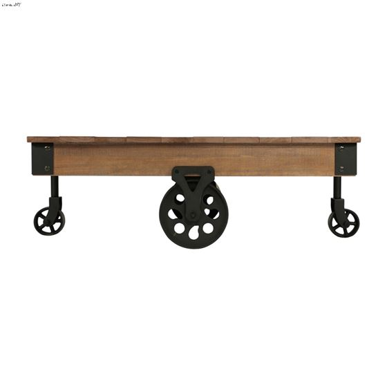 Factory Collection Industrial Style Coffee Table-3
