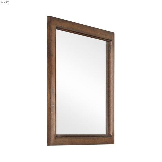 Elk Grove Vintage Bourbon Rectangular Mirror 203894 By Coaster