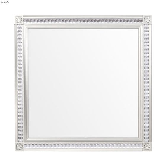 The Bevelle Collection Silver Mirror for Dresser 1