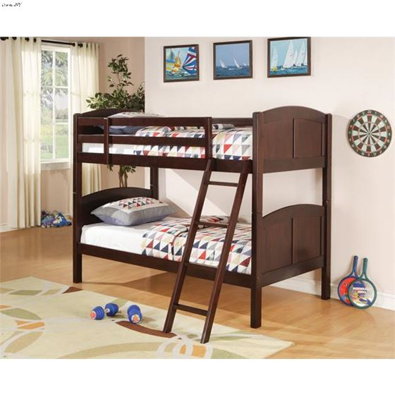 460213 Twin Over Twin Bunk Bed