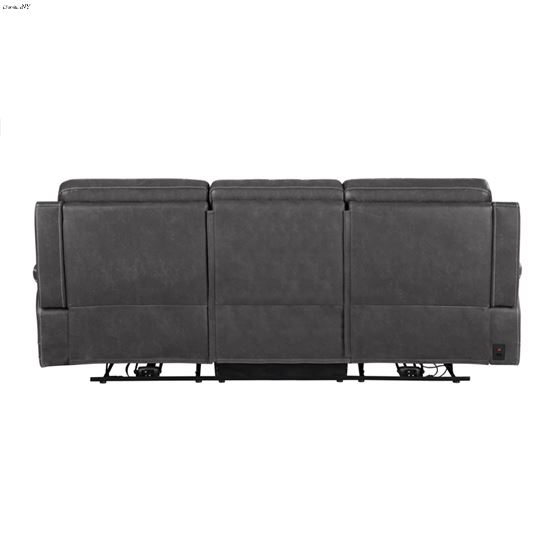 Wixom Charcoal Power Reclining Sofa 603514PP Back