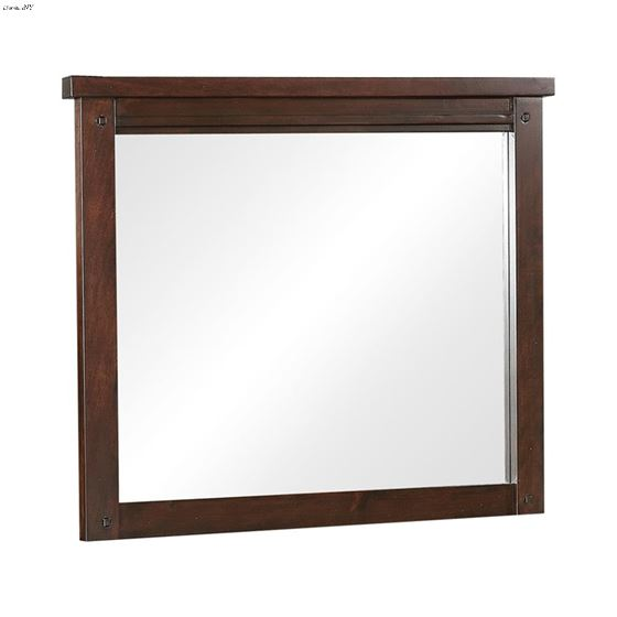 Barstow Pinot Noir Rectangle Mirror 206434 By Coaster