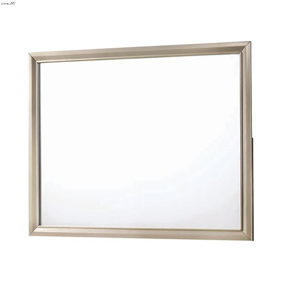Beaumont Champagne Rectangular Mirror 205294 By Coaster