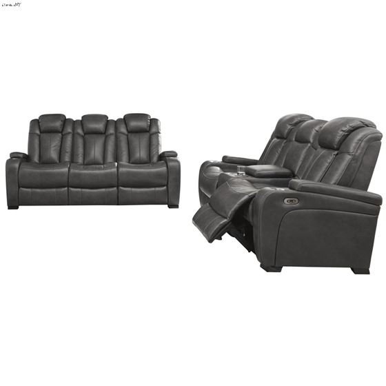 Turbulance 85001 Power Reclining Sofa and Loveseat