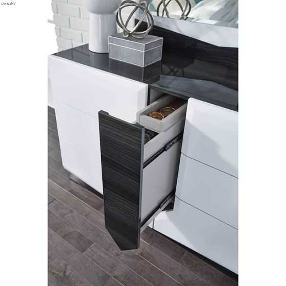 Hudson Modern 7 Drawer Dresser by Global Furnitu-3