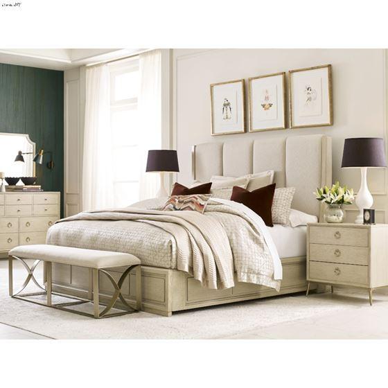 American Drew Lenox Siena King Upholstered Bed 2