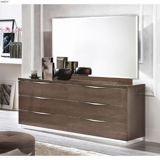 The Platinum Legno Bedroom Collection by Camelgroup Double Dresser