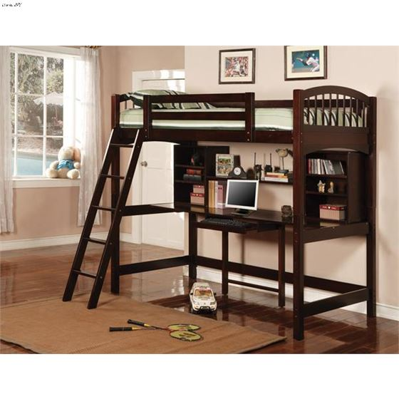 Twin Work Station Bunk 460063