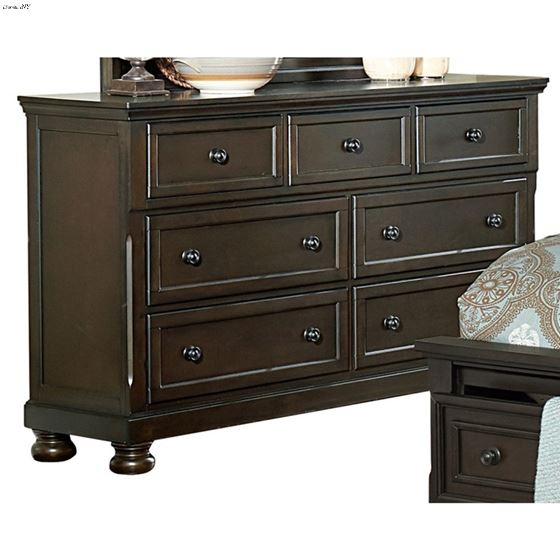 The Begonia Collection Dark Grey Dresser 1718GY-5