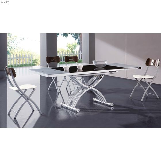 Modern 2109 Transformer Coffee Table / Dining Table in set