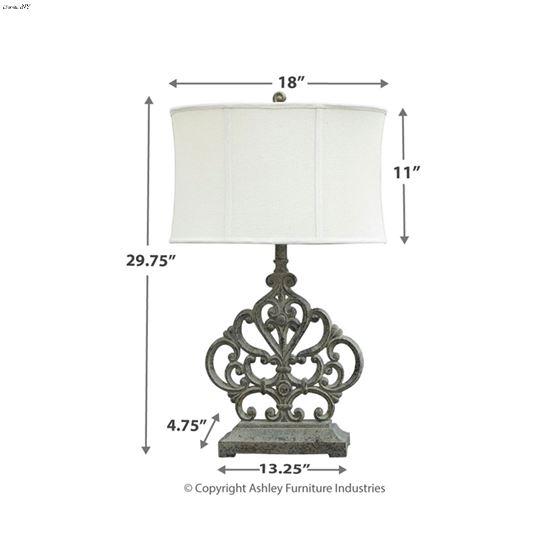 L511994 Broderick Lamp Dimensions