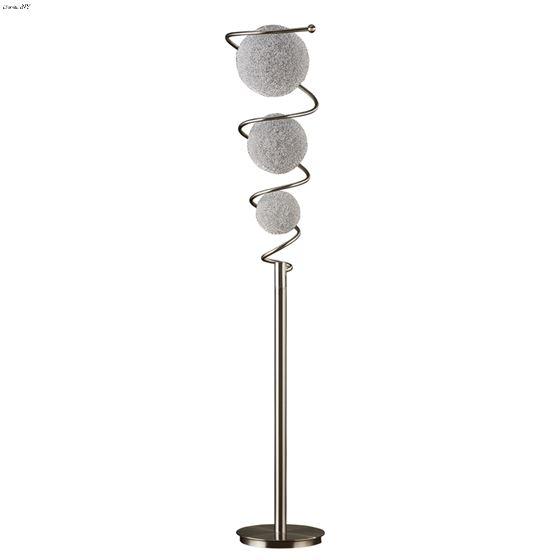 Diya Floor Lamp H11297 by Homelegance