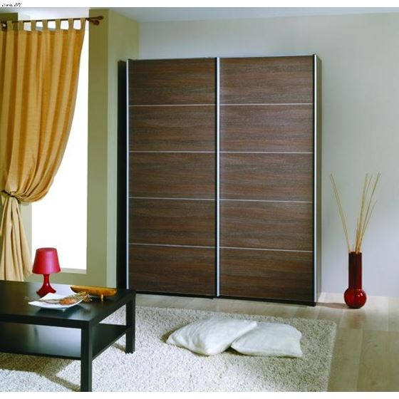 ACE Irbis Dark Oak Wardrobe