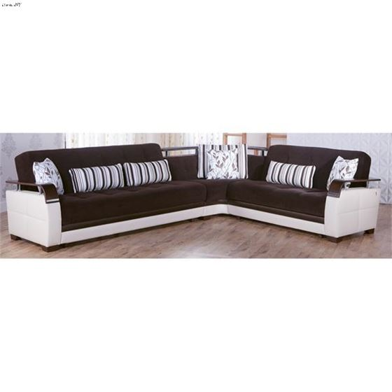 Natural Colins Brown Sectional- 2