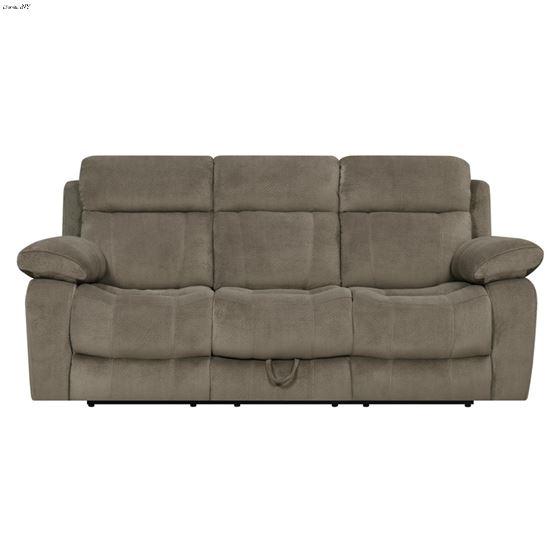 Myleene Mocha Recliner Sofa with Drop Down Table-3