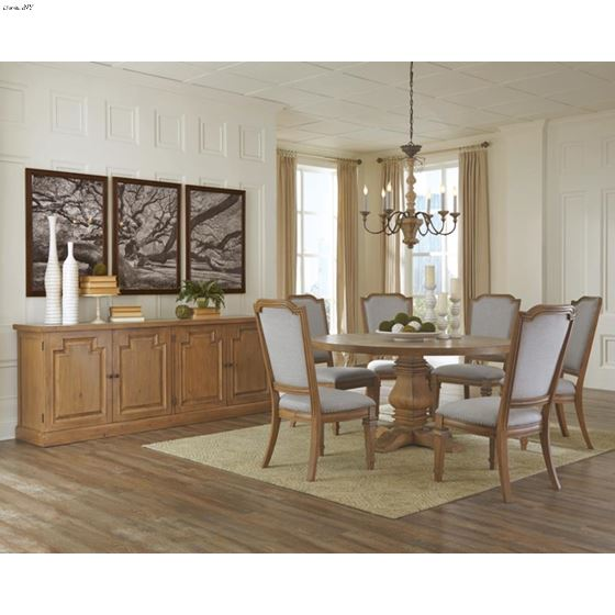 Florence 60 Inch Round Dining Table, 60 Inch Round Dining Table Set