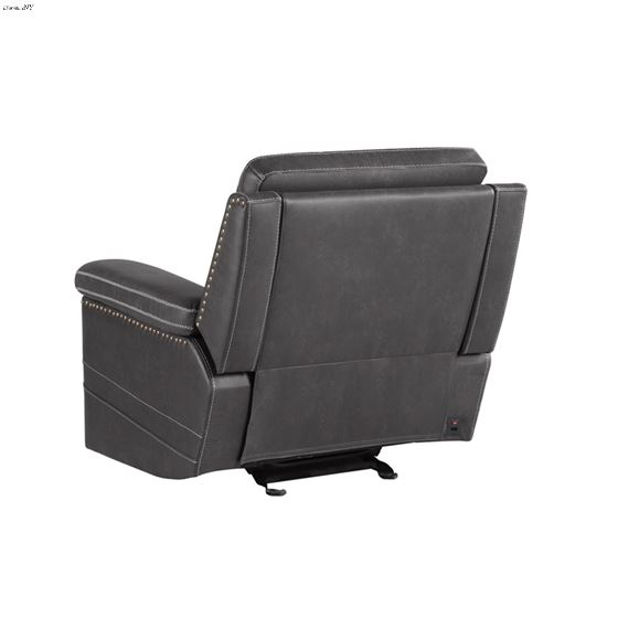Wixom Charcoal Power Glider Recliner 603516PP 2