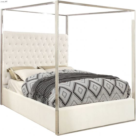 Porter White Canopy Bed