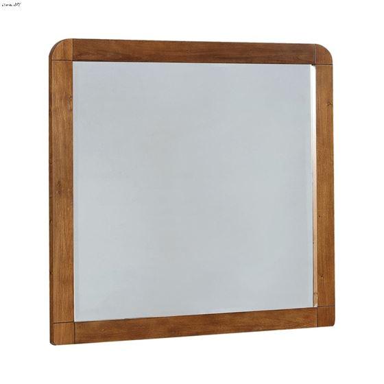 Robyn Dark Walnut Rectangular Mirror 205134 By Coaster