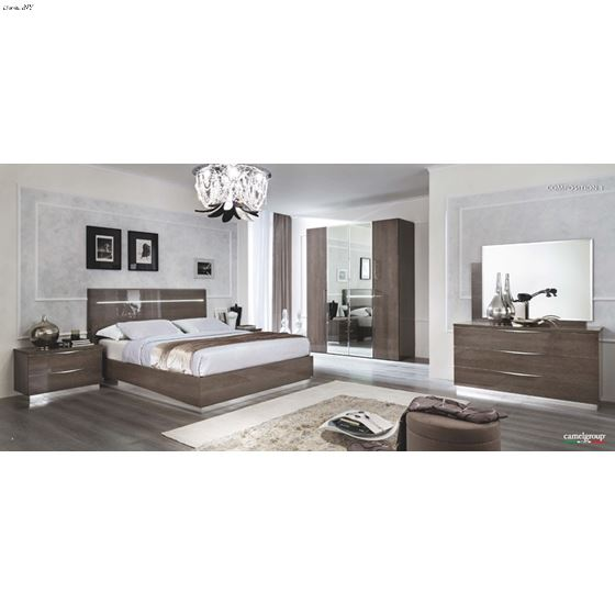 The Platinum Legno Bedroom Collection by Camelgroup