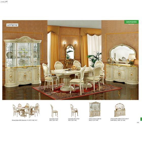 Leonardo Dining Table Collection