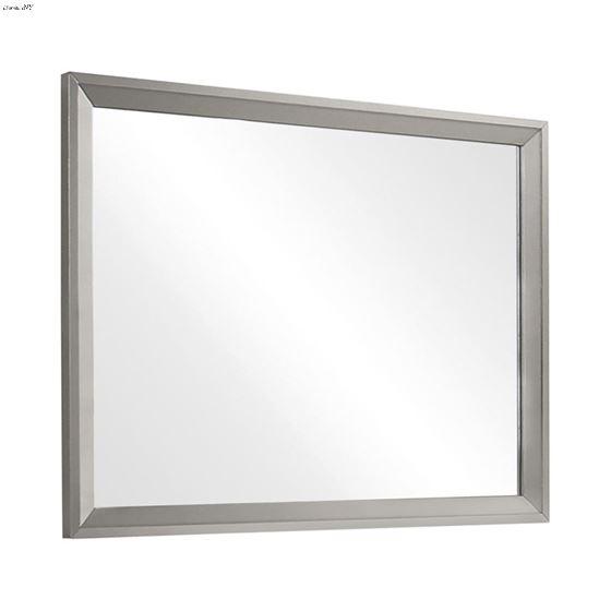 Ramon Metallic Sterling Mirror 222704 By Coaster